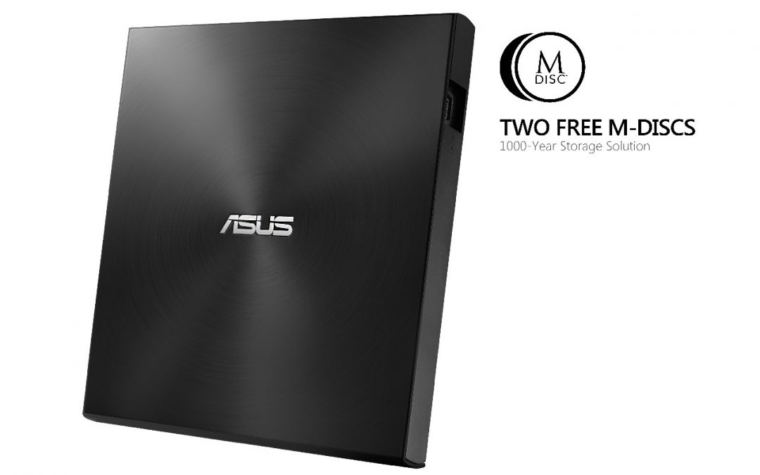 ASUS presenta la unidad externa de DVD ZenDrive U7M