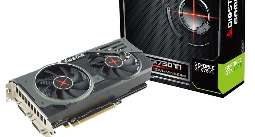 BIOSTAR presenta su tarjeta GeForce GTX 750 Ti OC
