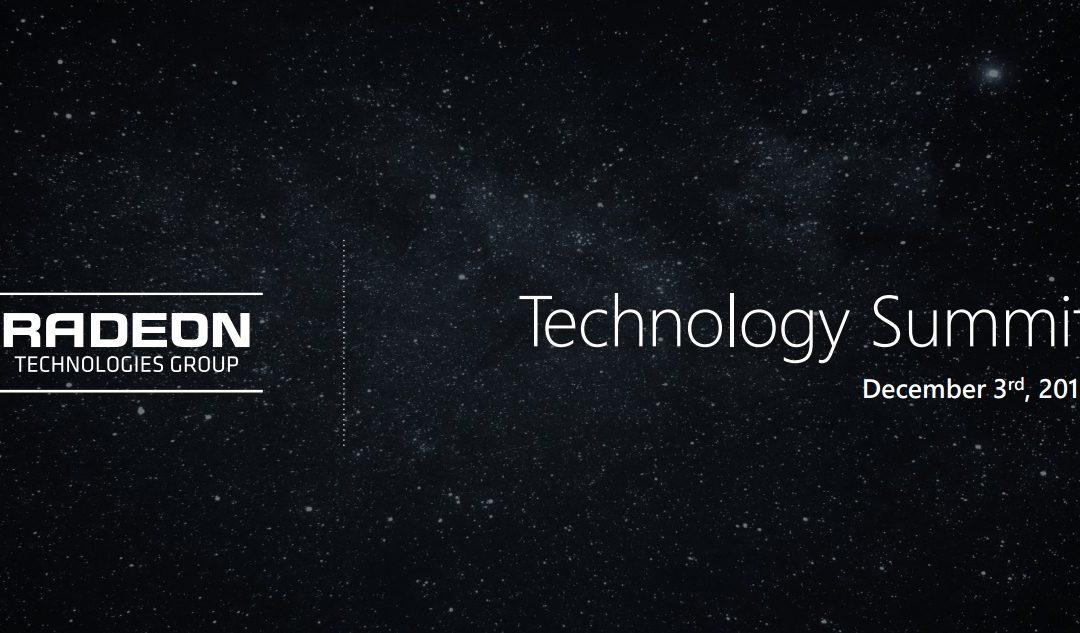 El Grupo Radeon Technologies de AMD anunció tres novedades