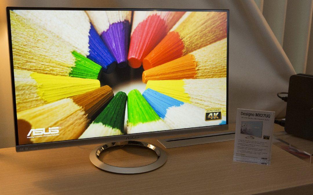 ASUS presenta el monitor Designo MX27UQ
