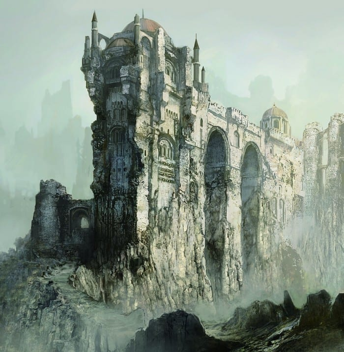 Old ruin high above the clouds-dark-souls-3