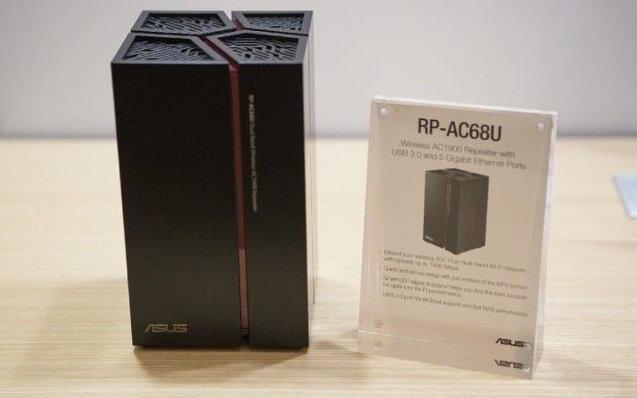 RP-AC68U Wi-Fi repeater