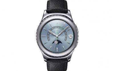 Samsung Gear S2 classic_Platinum_Front