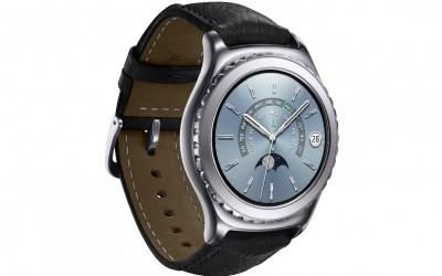Samsung Gear S2 classic_Platinum_Lside