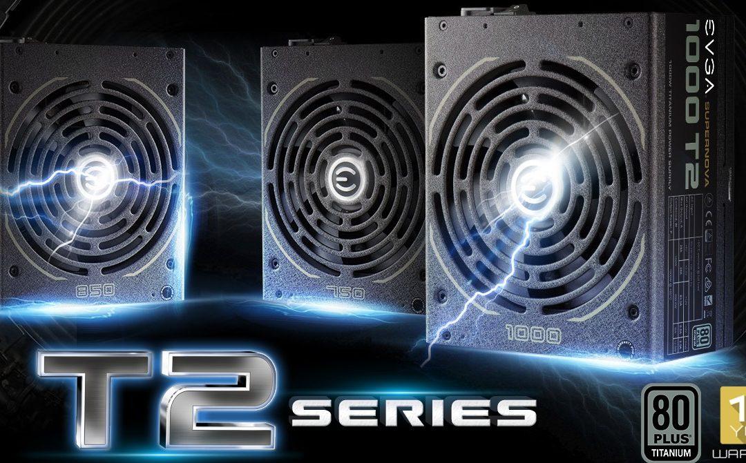 EVGA anuncia su serie de fuentes SuperNOVA T2