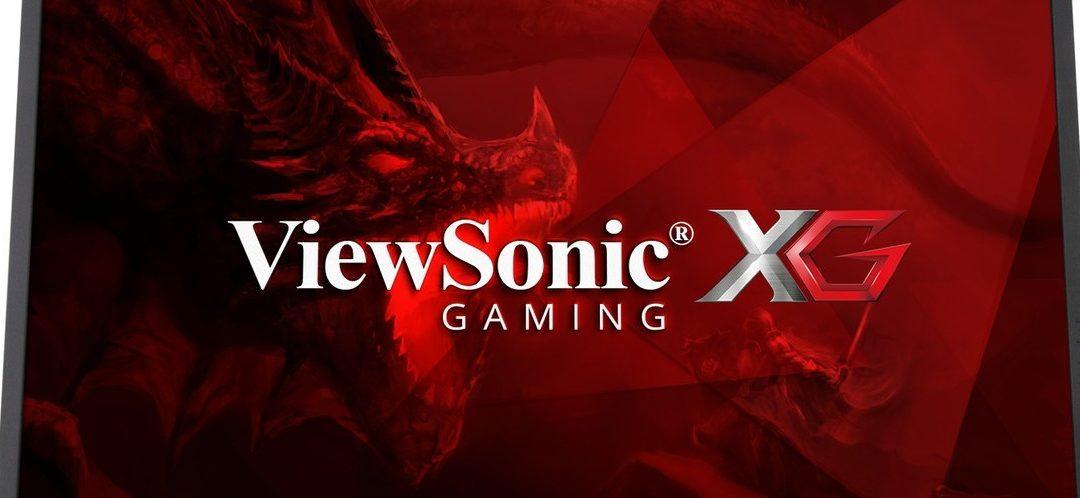 ViewSonic lanza nueva serie de monitores gamers