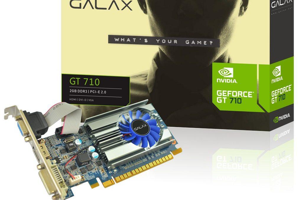 GALAX lanza su placa de video más barata