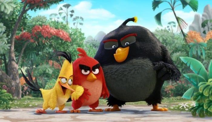 La película Angry Birds. Imagen cortesía de Sony Pictures Imageworks