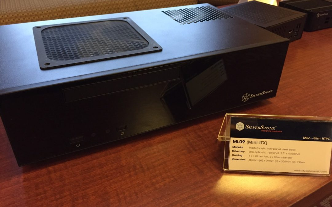 SilverStone presenta su gabinete ML09 para HTPC