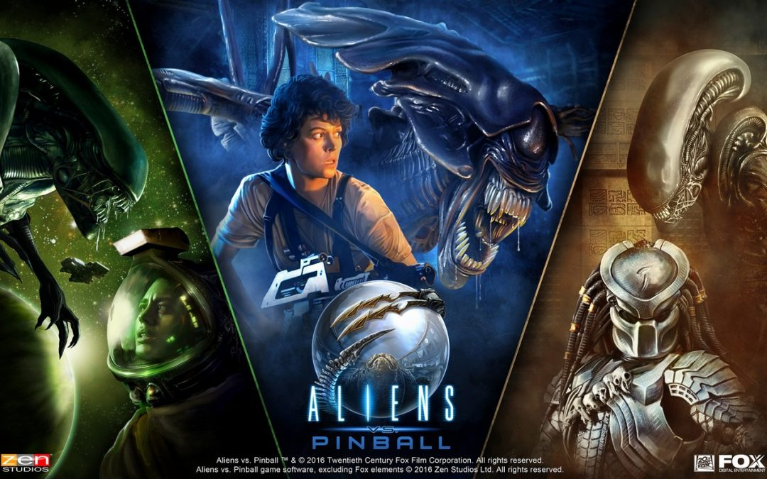 Llega el pinball de Aliens de la mano de Zen Studios