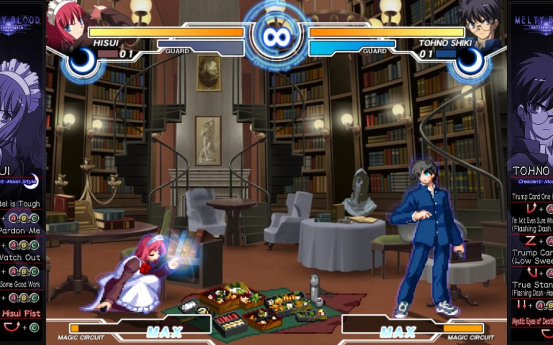 Melty Blood Actress Again Current Code ya disponible en Steam