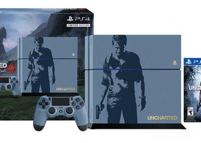 Consola PlayStation 4 + Uncharted 4 - Edición Limitada - Precio $14.999,00