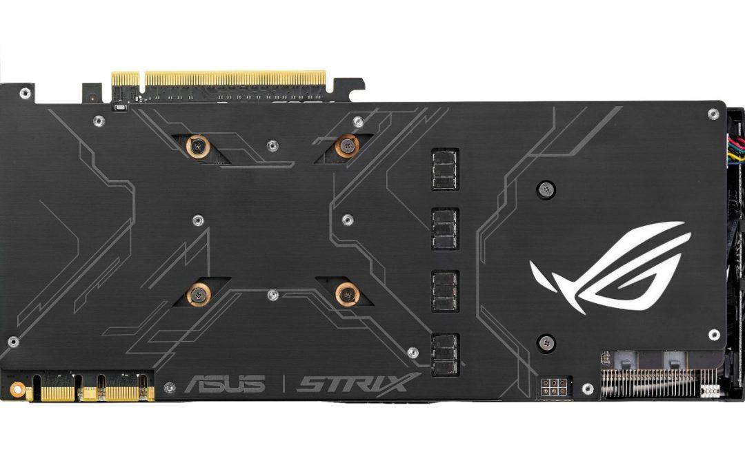 ASUS ROG anuncia la Strix GeForce GTX 1080