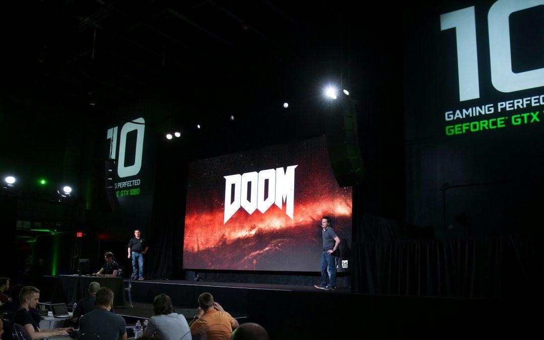 DOOM llega a 200 fps con una GeForce GTX 1080