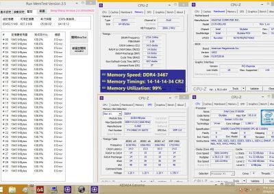 Kit Trident Z 3466 MHz CL14 + ASUS Z170 Deluxe