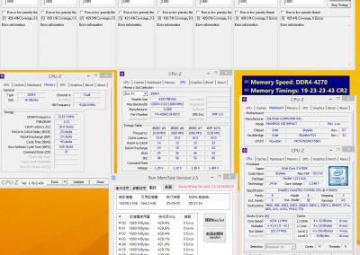 Kit Trident Z 4266 MHz + ASUS ROG MAXIMUS VIII IMPACT