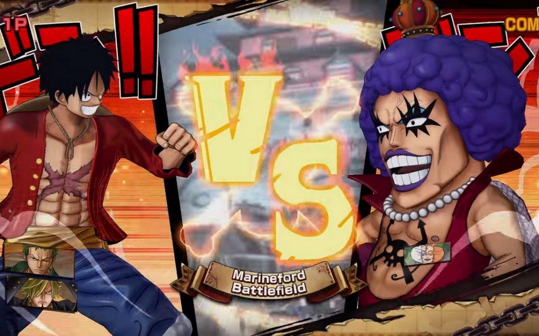 Nuevo trailer de One Piece Burning Blood revela modos de juego online