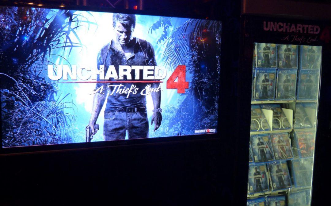 Lanzamiento oficial Uncharted 4