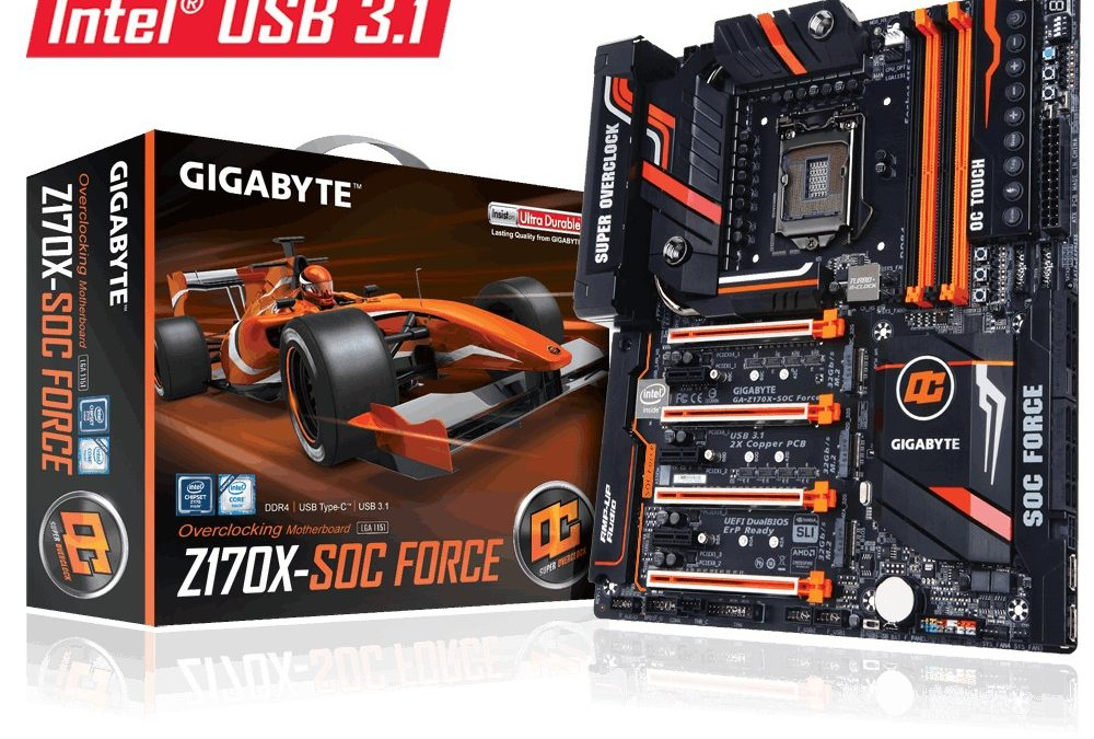 Cinco récords mundiales de OC en placa base Gigabyte