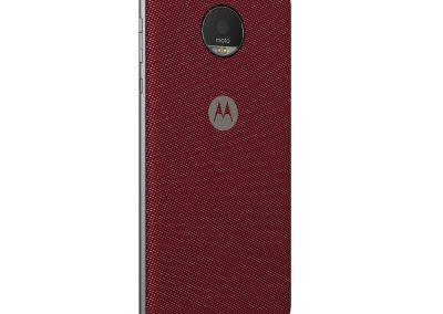 Moto Z Style Mod Crimson Nylon