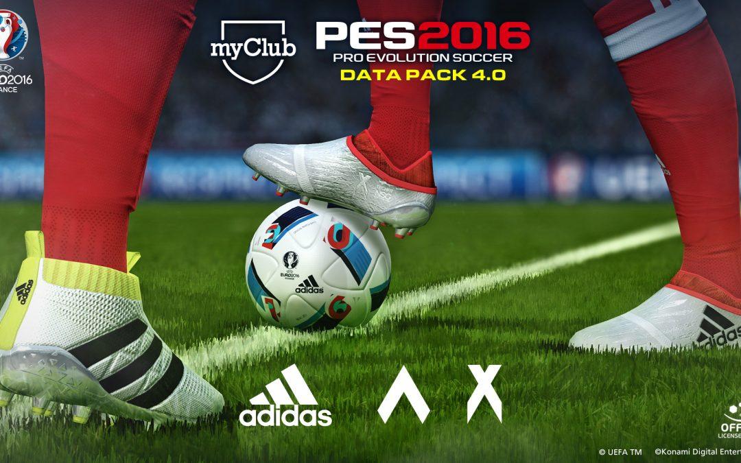 PES 2016: data pack 4.0 disponible