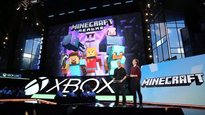 Lydia Winters and Sax Persson at Xbox E3 2016