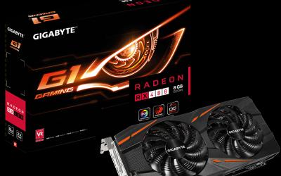 GIGABYTE presentó la Radeon RX 480 G1.Gaming