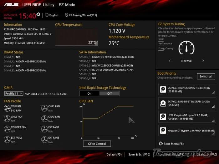 ASUS Z170 Gaming Pro-Bios-01
