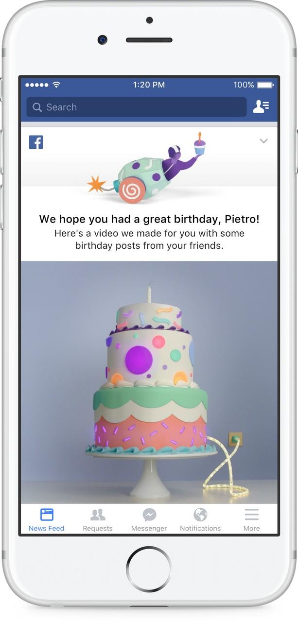 Fb birthday videos  2