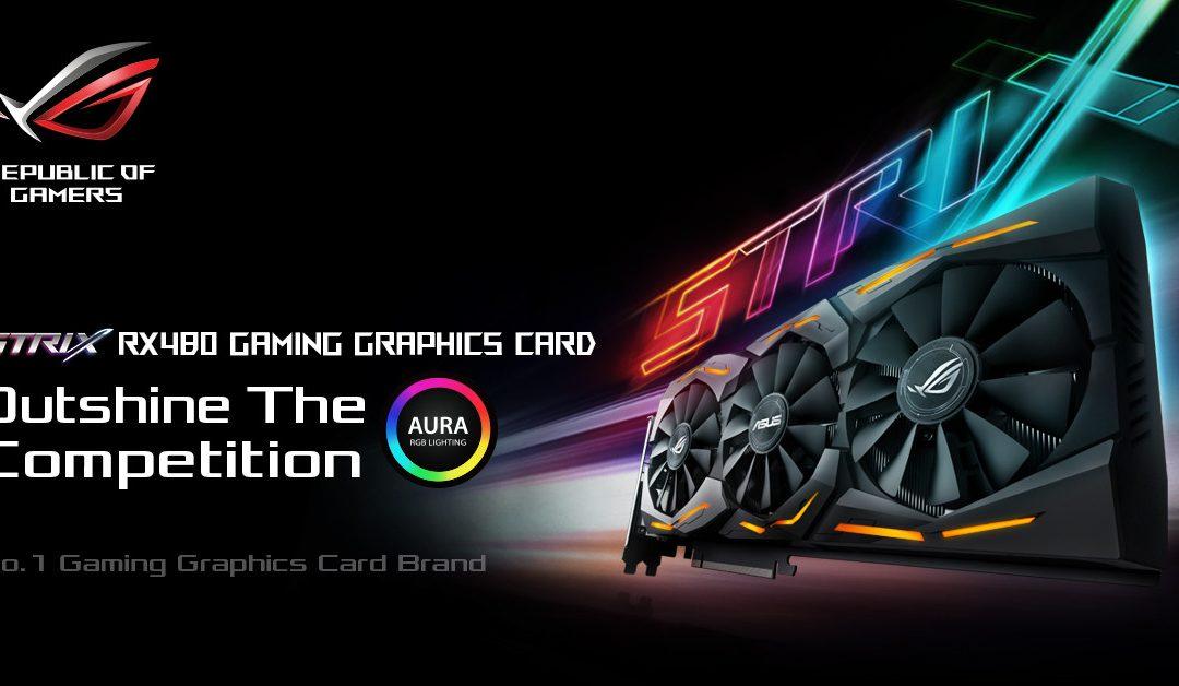 ASUS Radeon RX 480 STRIX revelada