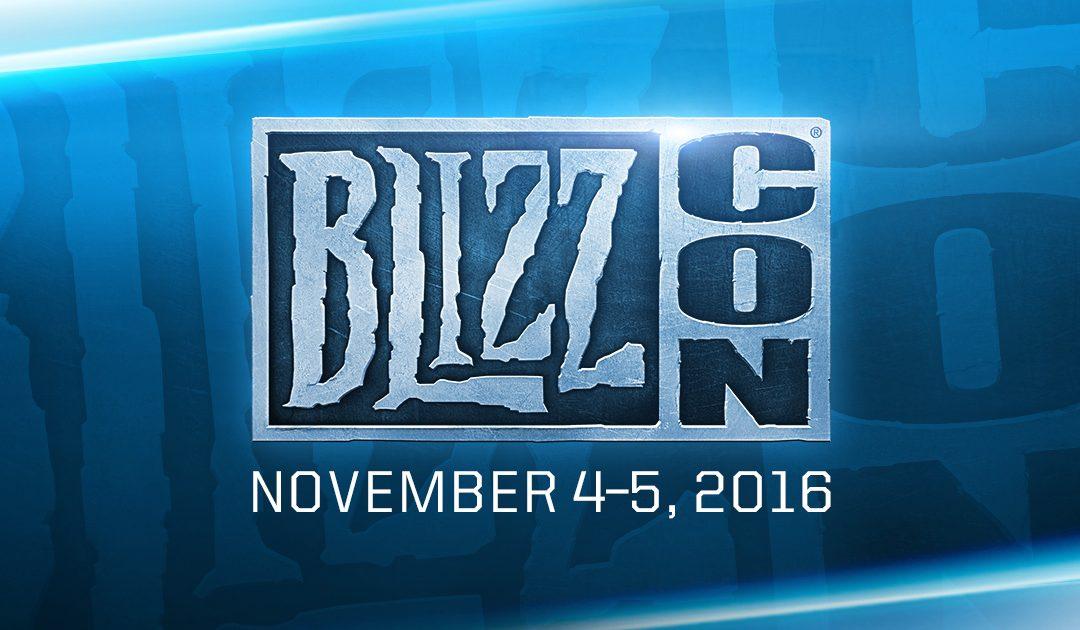 Nuevos detalles de BlizzCon 2016