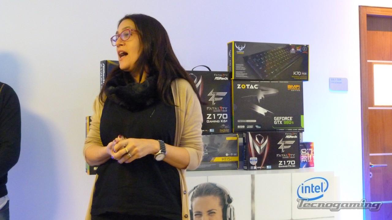 Mariela Bravo, Gerente de Consumo de Intel Argentina.