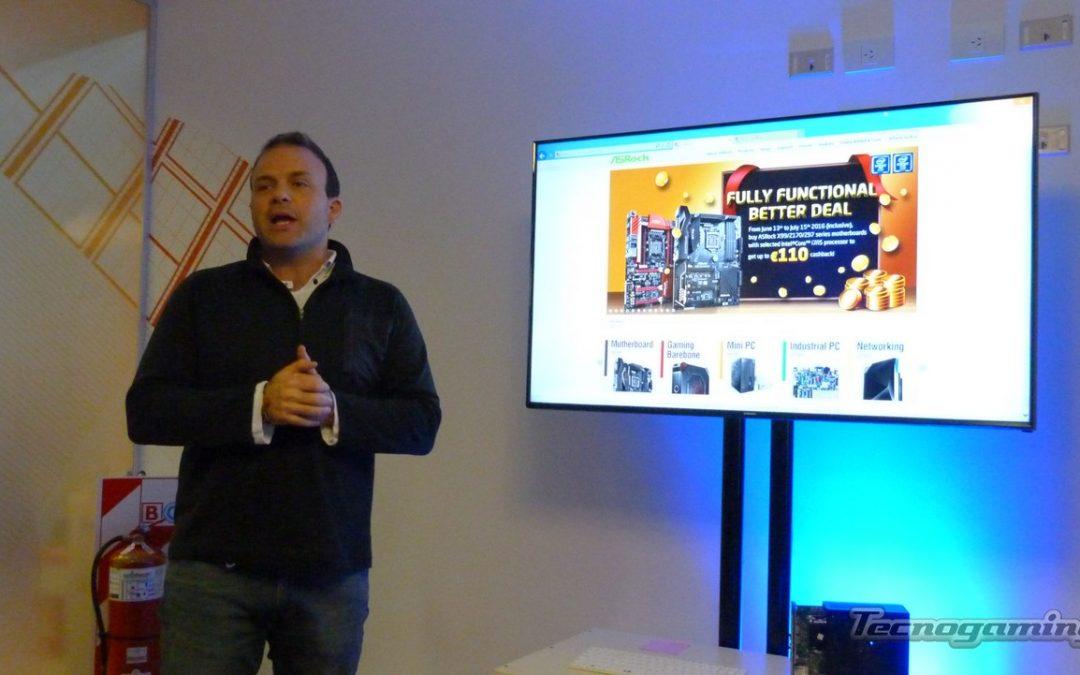 ASRock anuncia su participación en Tecnofields 2016