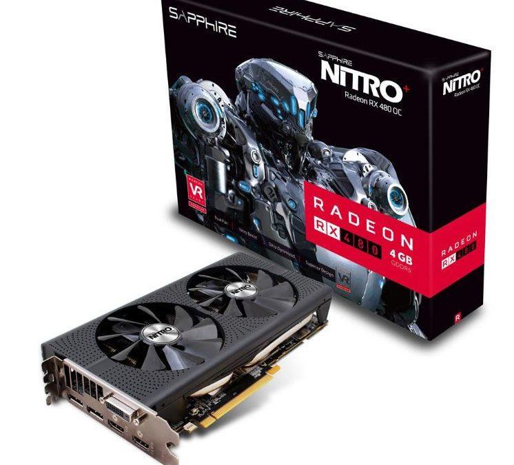 Sapphire anunció la Radeon RX 480 NITRO+ de 4GB y 8GB