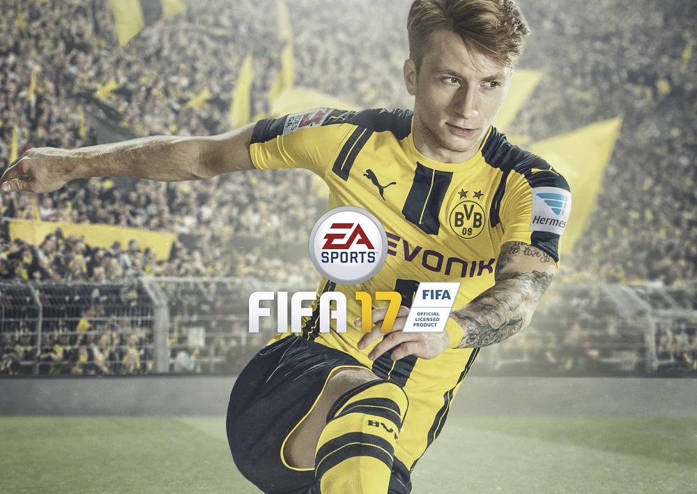 Marco Reus en la portada del nuevo FIFA 17 - TecnoGaming