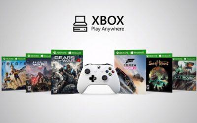 Todos los juegos de Microsoft estarán disponibles en PC y XBOX One