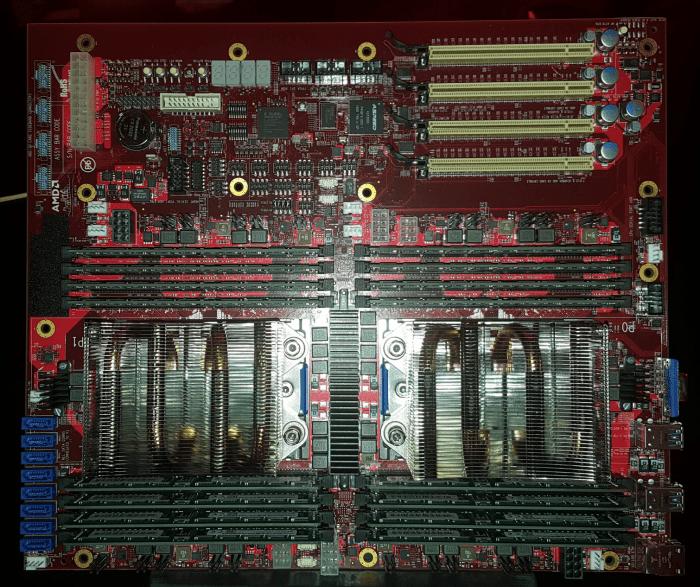 AMD Naples server Motherboard