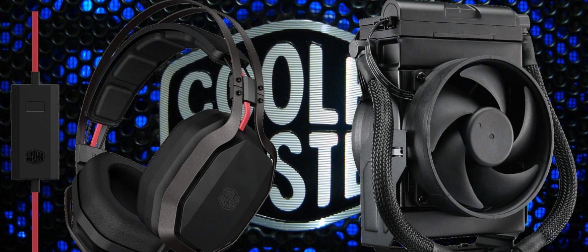 Cooler Master anuncia el MasterLiquid Maker 92 y nuevos auriculares