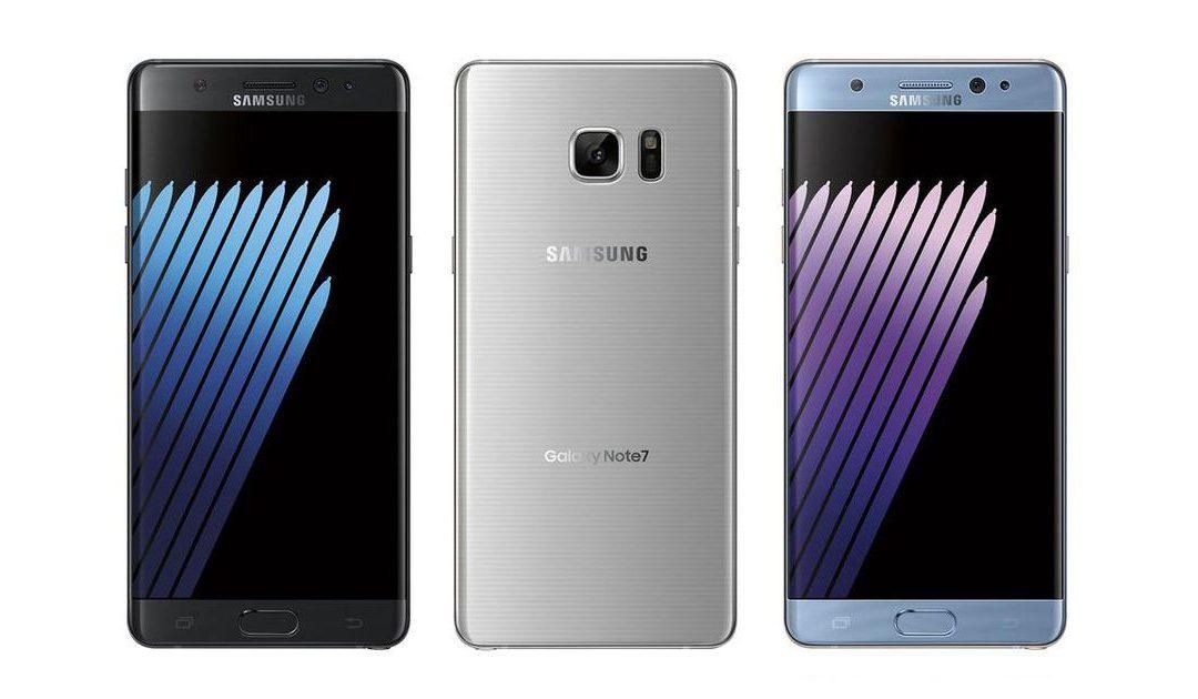 Samsung lanza el nuevo Galaxy Note7