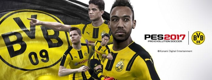 Konami - Borussia Dortmund PES 2017 (1)