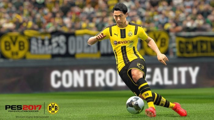 Konami - Borussia Dortmund PES 2017 (2)