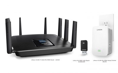 Linksys Family Shot with Names