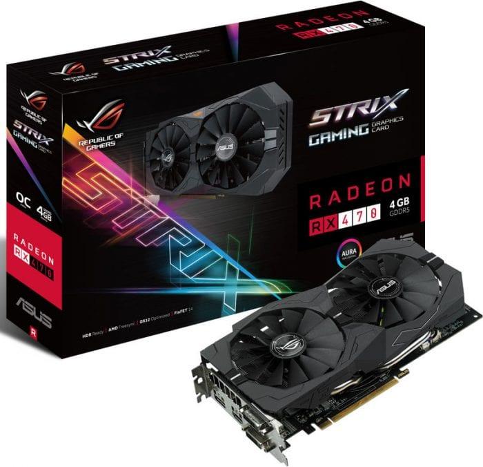 Radeon RX 470 STRIX