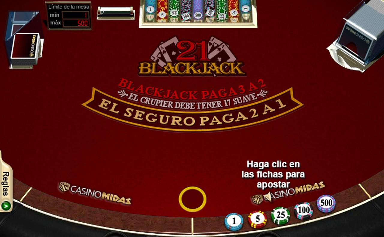 Jugar blackjack online gratis
