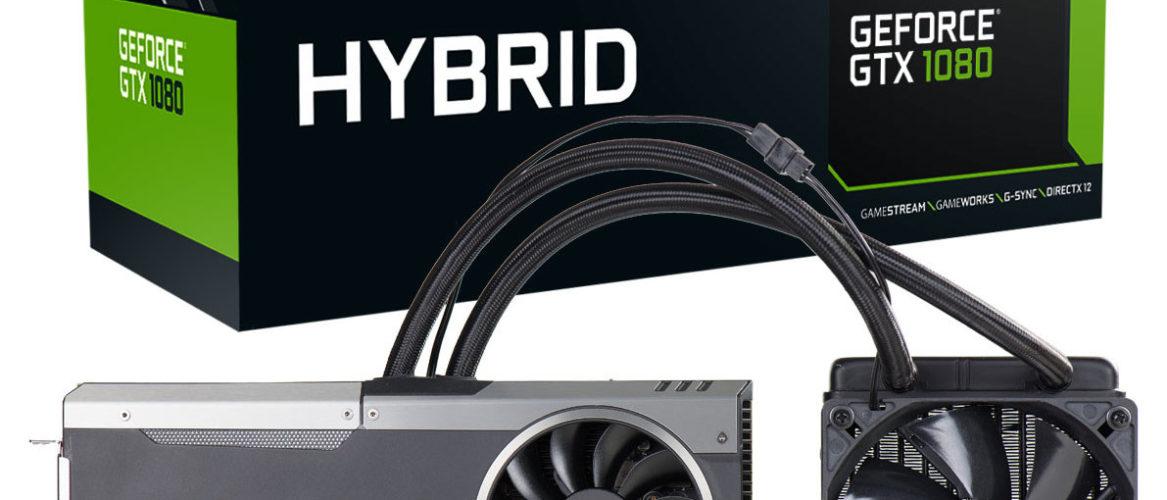 Ya está disponible la EVGA GeForce GTX 1080 HYBRID