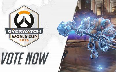 Vota para la Copa Mundial Overwatch ¿qué esperas?