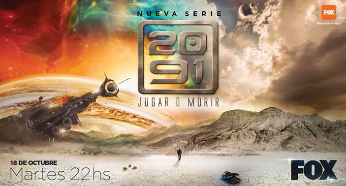 """FOX estrena su nueva serie original """"2091"""""""