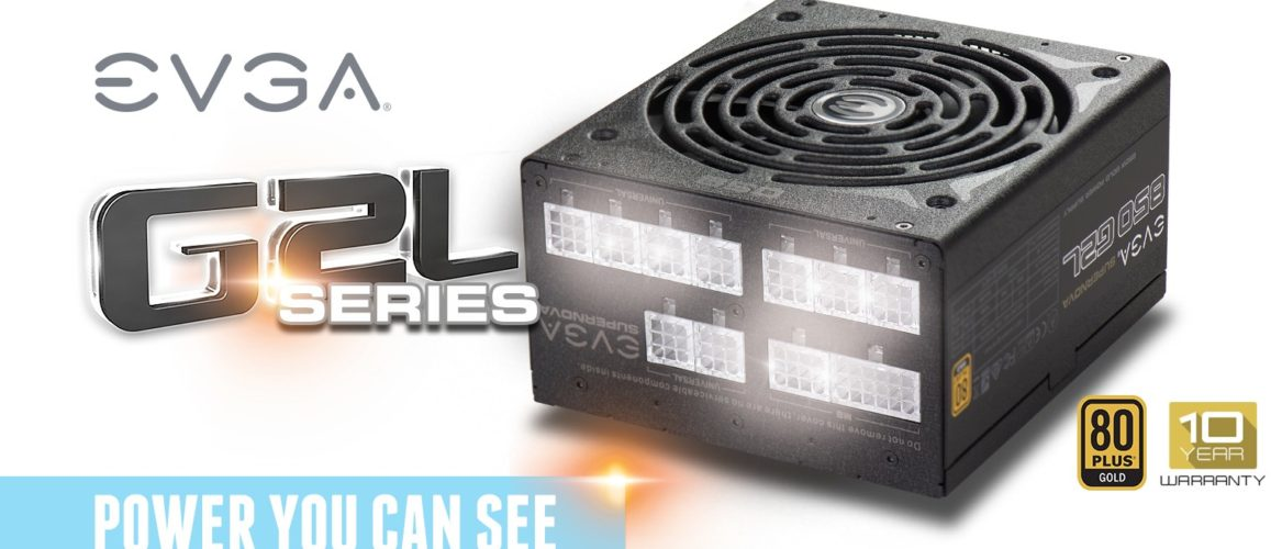 EVGA anuncia su serie de fuentes SuperNOVA G2L