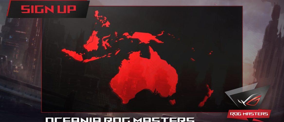 ASUS ROG Masters Oceanic Region Qualifier