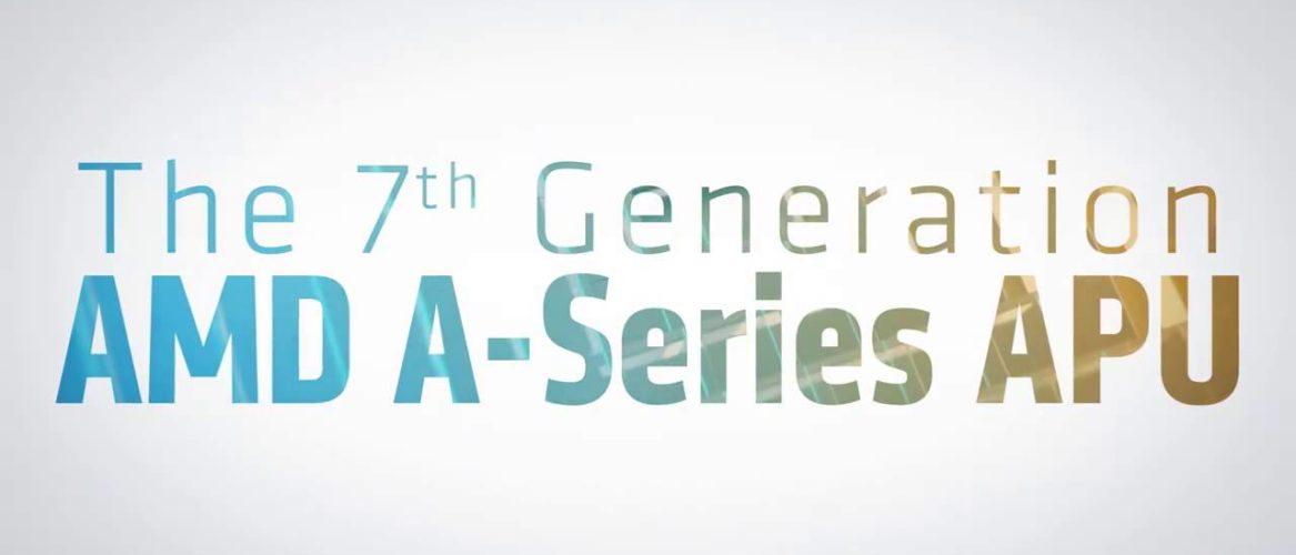 AMD presenta la 7ª generación de procesadores A-Series